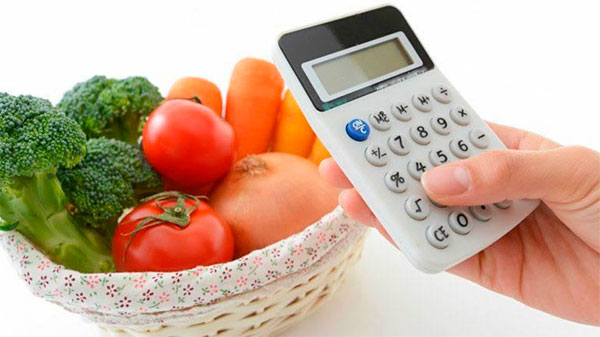 Consumo diário de calorias