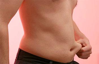 Gordura localizada nos homens