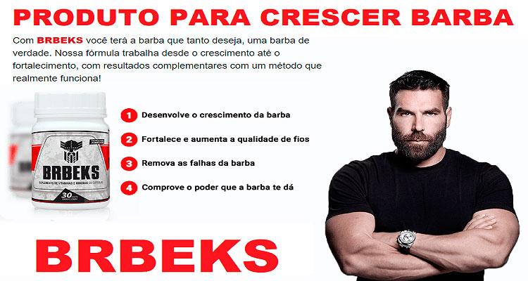 BRBeks crescer barba