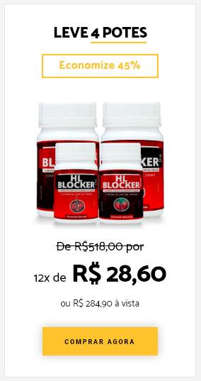 Comprar HairLossBlocker 4 potes
