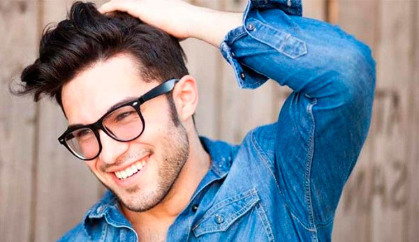 tratar cabelo masculino