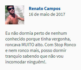 Depoimento Stop Ronco