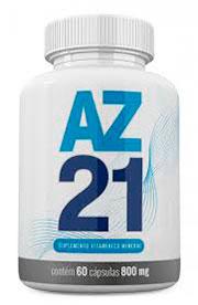 Pote de AZ 21 para homens com problemas de impotência